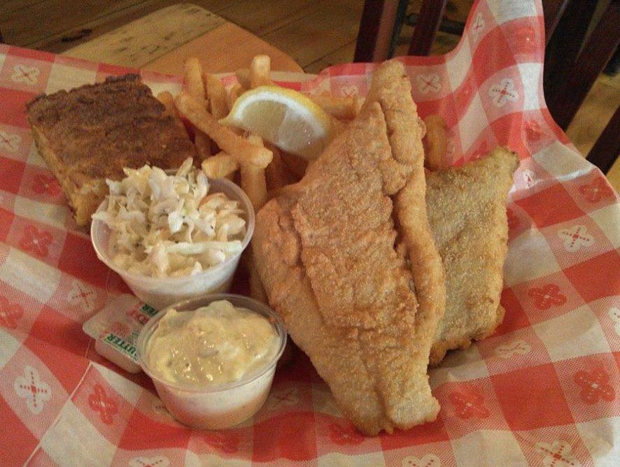 Fried Haddock Filets